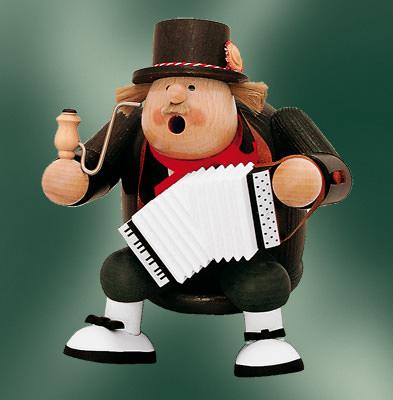 Kantenhocker Musiker, 16cm