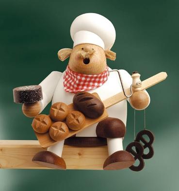 Kantenhocker Bäcker, 17cm