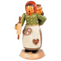 Müller Smoking man - Lebkuchen salesgirl