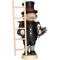 Smoking man Chimney sweeper, 31cm