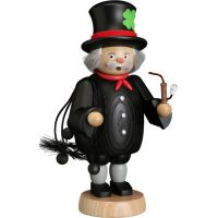 Smoking man Chimney sweeper, 21cm
