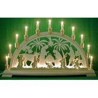 Candle arch - The Nativity, extra