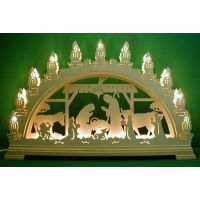 Candle arch - The Nativity2 3D, 67cm