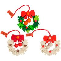 Tree ornaments - Advent wreath with balls, set