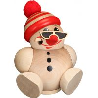 Ball smoking figur - Cool-Man with beanie