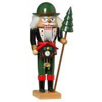 KWO Nutcracker - Black Forest clock seller, 27cm