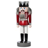 KWO Nutcracker - King red, 25cm