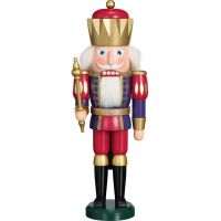 Nutcracker - King Indigo-Raspberry Red, 40cm