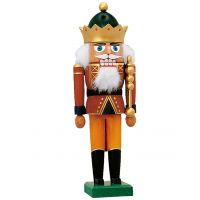 KWO Nutcracker - King with crown, 29cm