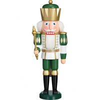 Nutcracker - King White-Green, 40cm