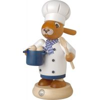Smoking rabbit cook, 19cm