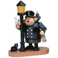 Smoking man Captain, 24cm