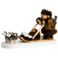 1 Eskimo with dog sleigh