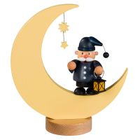 KWO Smoking man Man in moon, 23cm