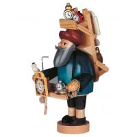 Smoking man Clocks seller, 23cm