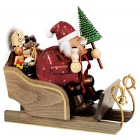 1 Santa Claus on sleigh, 30cm