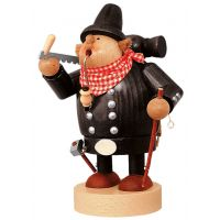 Smoking man Carpenter, 21cm