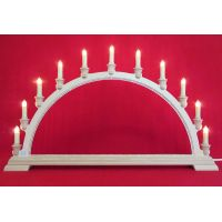 Candle arch - Bobbin lace