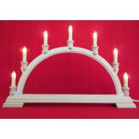 Candle arch - Bobbin lace, 7can