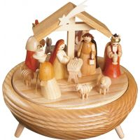 Glässer Music box - Nativity4