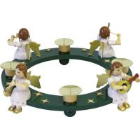 Candleholder with angels, 40cm