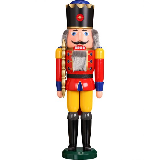 Nutcracker - King, red, 60cm